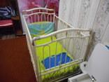 Кроватка детская Металлическая Geoby, фото №5