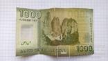 1000 чилийских песо, пластик.., фото №2