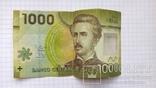 1000 чилийских песо, пластик.., фото №3