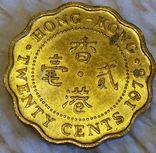 Гонконг 20 центов 1978, фото №2