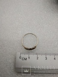 Кольцо серебро 925 перышко, фото №3