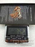 Цепочка серебро 925 позолота, фото №6