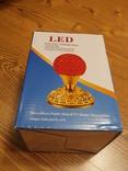 Ночник - цветок LED Ball Light RHD-21 Светодиодная лампа-проектор, фото №5