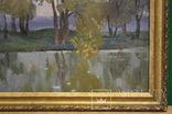 """""""У реки"""" 1984г. Худ. Антипов М.В., фото №6"""