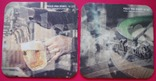 Костеры-бирдекели под пивные кружки и бокалы - 4 шт., фото №2