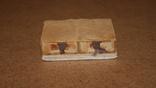 Спичечница на 2 коробка Ослик ,керамика, фото №4