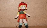 Красная Шапочка, керамика, подвижная, марионетка, фото №3