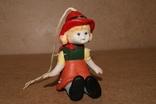 Красная Шапочка, керамика, подвижная, марионетка, фото №7