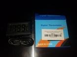 Электронный цифровой термометр с выносным датчиком, фото №4