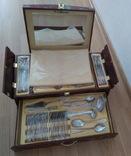 Набор столовых приборов в кейсе, сундуке ZPTR 72 шт., фото №5