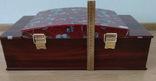 Набор столовых приборов в кейсе, сундуке ZPTR 72 шт., фото №11
