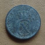 1 эре  1944  Дания   (М.3.52)~, фото №2