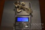 Серебряная цепочка Бисмарк с крестом 190.8 грамм, фото №11