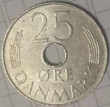 Дания 25 эре 1976, фото №3