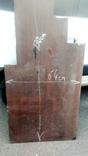 Лист текстолит для ручек ножей толщ 20мм,130х64см, фото №3