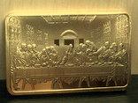 ИИСУС - тайная вечеря  сувенирный слиток, фото №6