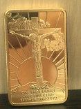 ИИСУС - тайная вечеря  сувенирный слиток, фото №7