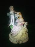 Meissen.? Музицирующая пара. #1., фото №2
