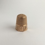 Старинный золотой наперсток, фото №4