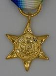 Великобритания. Медаль. Атлантическая звезда. Миниатюра.