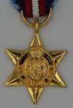 Великобритания. Медаль. Арктическая звезда. Миниатюра.