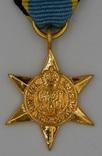 Великобритания. Медаль. Звезда за воздушную битву в Европе. Миниатюра.