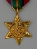 Великобритания. Медаль. Тихоокеанская звезда. Миниатюра.