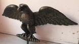 Фигура Бронза птица орёл Верхушка на каминные часы, фото №3