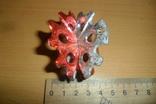 Елочная игрушка 5 штук в лоте пластик, фото №5