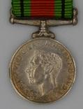 Великобритания. Медаль. Медаль Обороны. Миниатюра.