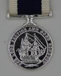 Великобритания. Медаль. Медаль военно-морского флота за отличную службу. Миниатюра.
