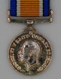 Великобритания. Медаль. Британская Военная Медаль 1914-20. Миниатюра.