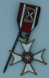 Польша. Орден Возрождения Польши 4-го класса (Офицерский крест). . Миниатюра.