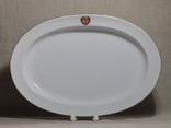 Блюдо с Гербом СССР из «Кремлевского сервиза» ЛФЗ 1970-е, фото №3