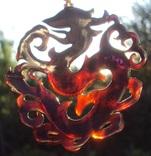 Кулон резной черепаховый панцирь., фото №5