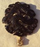 Кулон резной черепаховый панцирь., фото №7