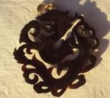 Кулон резной черепаховый панцирь., фото №11
