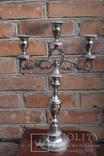 Канделябр на три свечи. Европа, фото №2