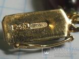 Бусы  золото , бакелит., фото №3