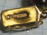 Бусы  золото , бакелит., фото №4