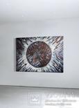"""""""Eclipse. Indigo"""" акварельная абстракция 140х100 см. Ю. Смаль, фото №3"""