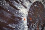 """""""Eclipse. Indigo"""" акварельная абстракция 140х100 см. Ю. Смаль, фото №4"""