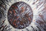 """""""Eclipse. Indigo"""" акварельная абстракция 140х100 см. Ю. Смаль, фото №6"""