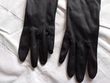 Перчатки черные дамские, фото №4
