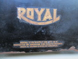 Печатная машинка ROYAL США начало 20 века, фото №4