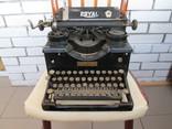 Печатная машинка ROYAL США начало 20 века, фото №2