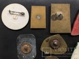 Иностаррые бронзовые значки, фото №8