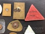 Иностаррые бронзовые значки, фото №9
