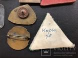 Иностаррые бронзовые значки, фото №11