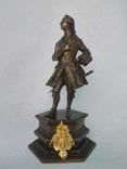 Бронзовая скульптура короля Людовика XV